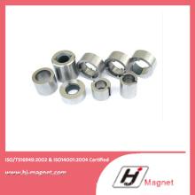 Alta qualidade anel personalizado permanente NdFeB/ímã do Neodymium para motores