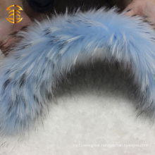 Factory Price High Quality Fashion Racoon Dog Fur Trim