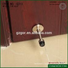fixed in wooden door stopper with top rubber