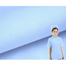 Twill Nurse Uniform Fabric with Anti-Chlorine Wash