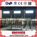 Größte preiswerte springende quadratische Trampoline-Ausrüstung für Verkauf