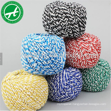 Colored cotton bakers twine string for wholesale cotton rope