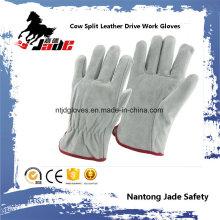 Vaca Split personal seguridad industrial conductores cuero trabajo mano guante