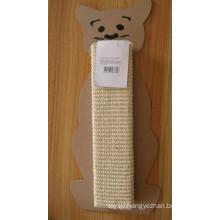Cat Products, White Sisal Cat Scratch Board