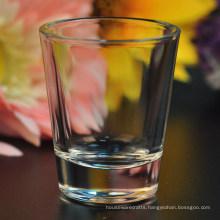 Wholesale 50ml 60ml Clear Shot Glass