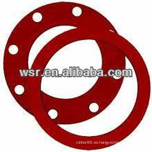 Junta de goma de silicona de cara completa NBR / EPDM / Silicona / Viton