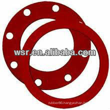 NBR/EPDM/Silicone/Viton full face silicone rubber gasket