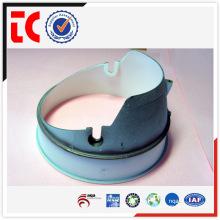 White painted custom made aluminium lamp shade rings die casting