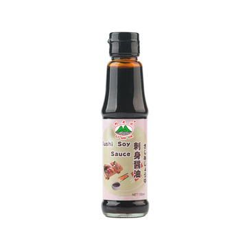 150ml Bottle Glass Sushi Sushi Soya