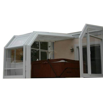 Uttrekkbar Sunroom Prefabricated Patio Kapsling Sydney