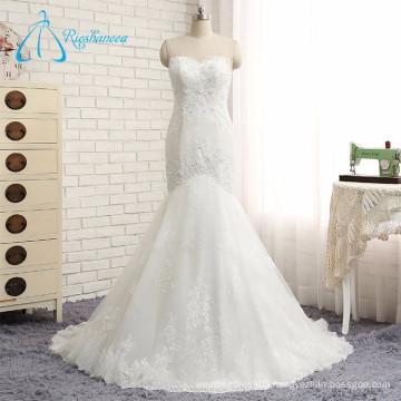 2017 Hot Popular Tulle Beading Lace Mermaid Sexy Wedding Dress