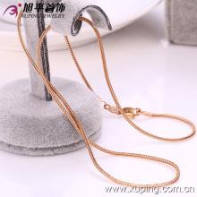 Xuping forma de oro de 18 k color serpiente de forma collar (42089)