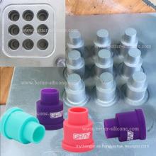 Moldeo por compresión de proceso de caucho para productos de silicona