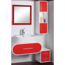 Mobília moderna do armário de banheiro do PVC (C-6069)