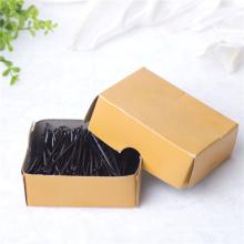 Caixa de 5.5cm embalado pinos de cabelo de metal preto clássico (je1040)