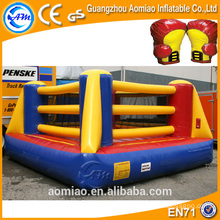 High quality kids inflatable boxing rings for sale, inflatable boxing glove