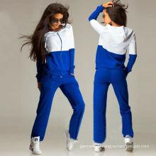 Autumn Blank Cotton Hoodies für Frauen Bekleidung Sportwear (R)
