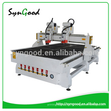 High Effective 1.3 * 2.5m multi-heads woodworking CNC Router