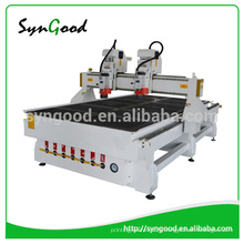 High Effective 1.3*2.5m multi-heads woodworking CNC Router