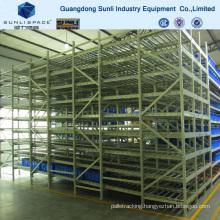 Storage Warehouse Carton Flow Self Slide Rack