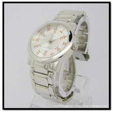 Stainless Steel Watches New Hot Selling Factory Directly Swiss Mov′t Stainless Steel Band