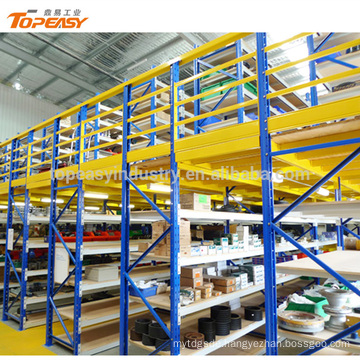 heavy duty iron attic racking for industrial warehouse storage