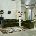 Европейский небольшой гостиной кожаный диван