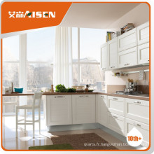 Cabinet de cuisine en bois massif standard américain de haute qualité