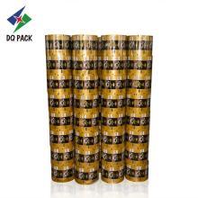 Rollo de película de papel de aluminio de café