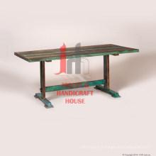 Table à manger industrielle