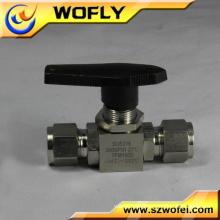 Válvula de esfera do flutuador do tanque de água da união do dobro do pvc da polegada 2 de 4 polegadas