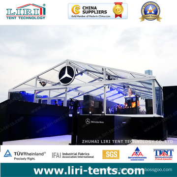 9X18m Transparent Tent with Clear Roof and Clear Windows for Doir Event