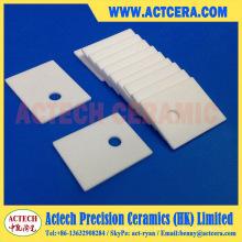 Fabricación personalizada 96% Al2O3 / sustrato de cerámica de alúmina / placa / hoja