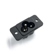 JEC AC Power  Two PIN Male JR-307(S) Computer Power Socket All Copper