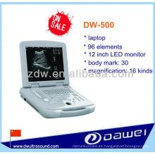 escáner portátil de ultrasonido para veterinaria (DW-500)