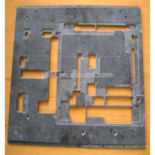 Plaque composite en fibre de carbone