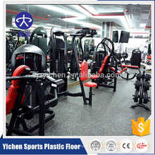 Rouleau de revêtement de sol en caoutchouc coloré EPDM pour gym