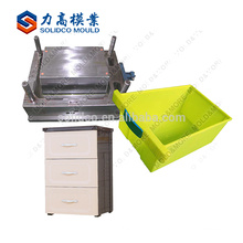 HuangYan Quality Assurance Storage Drawer Moldagem para injeção