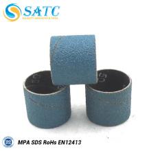 Mangas de lixadeira de eixo e mangas de lixamento de tambor para lixadeira de fuso rígido