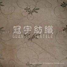 Broderie en daim pour les utilisations textiles de la maison de canapé