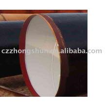 3PE steel pipe/ tube ASTM SPIRAL ANTI-CORROSION PE WELDED STEEL PIPE