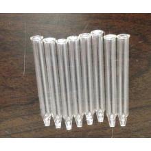Pipette en verre conique clair tubulaire pour l'emballage de l'huile essentielle
