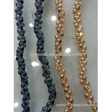 Brins en cristal de perles de cristal, perles de mode pour bijoux diy, perles de verre de haute qualité