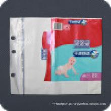 Saco de embalagem descartável Premium impresso dos cuidados pessoais