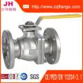 Brida de acero al carbono amarillo DIN2502 Pn16 y Junta de goma