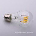 Clear/Amber Glass Globe Dimmable 4w Round Shape soft LED Filament Bulb ST64