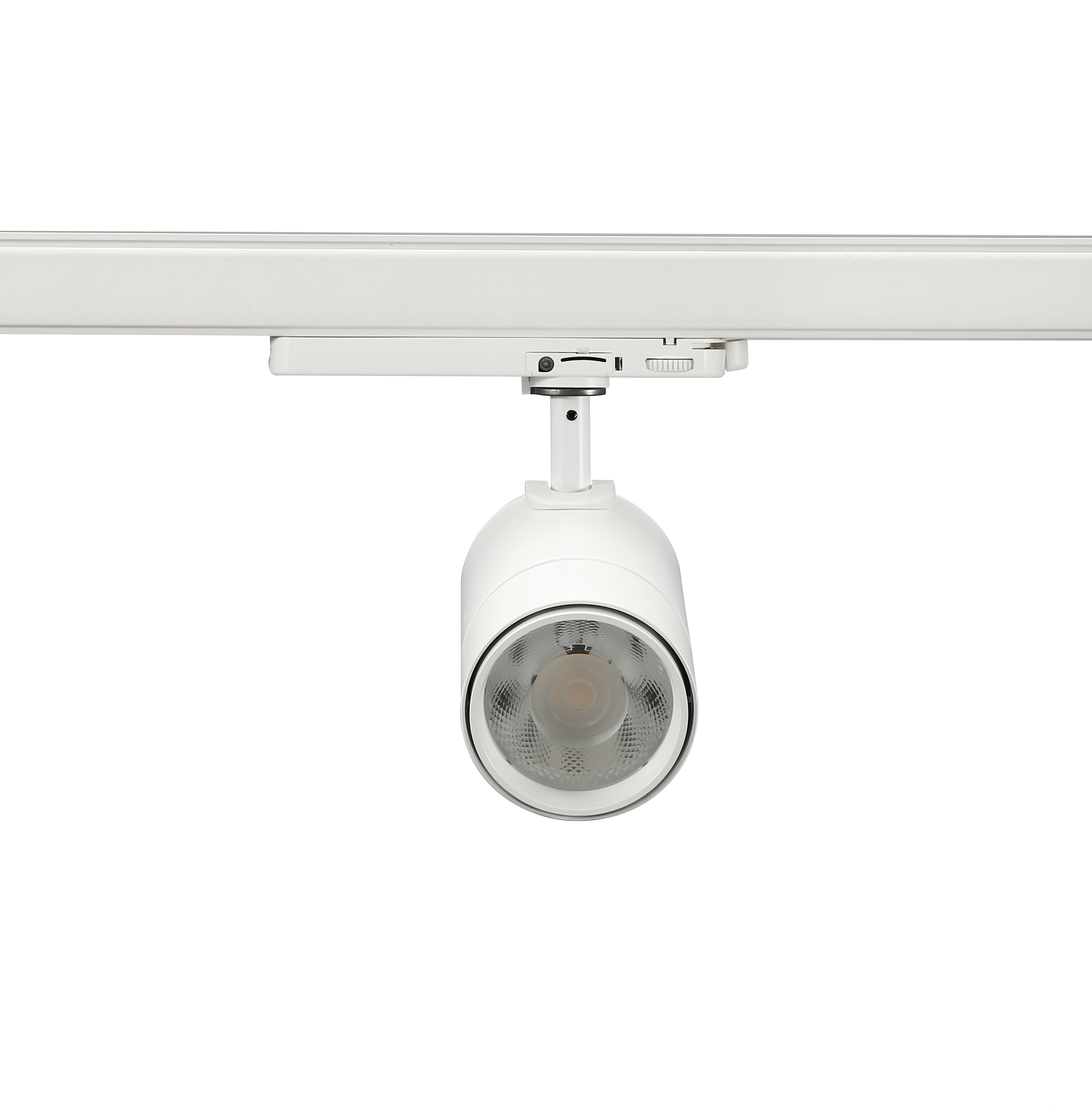25W led tracklight white front