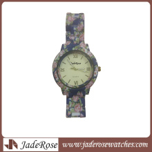 Promotion Ladies′ Gift Watch Colorful Band Watch (RP2082)