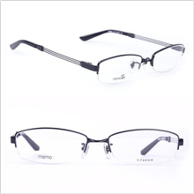 Frames de titânio / Óculos de meia lâmina / Estilos de homem (8684)