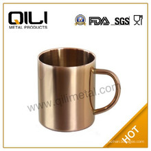 450ml stainless steel Copper plating cups Moscow Mule copper mugs